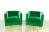 Lounge Furniture - Vintage Side Chair [Emerald Green]