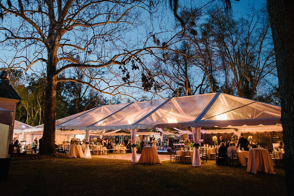 Tent Frame Clear Top Ruths House Event Rentals