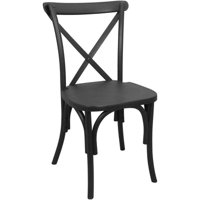 Chair [X-back Black]
