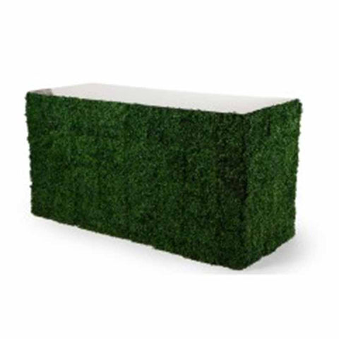 Bar - Boxwood with Glass Top