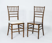 Chair [Chiavari Chair - Fruitwood - Walnut ]