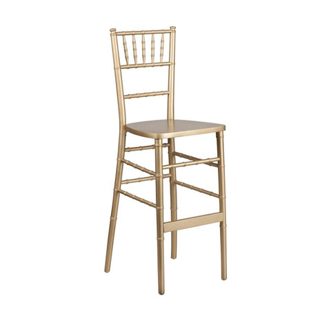 Chair - Chiavari Chair - Barstool [Gold]