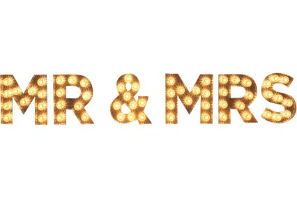 Lighting - Marquee Sign [MR & MRS]