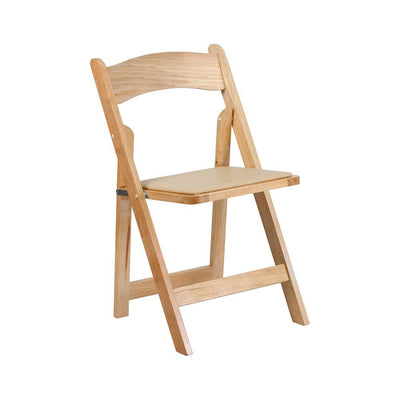 Chair [Folding - Padded Natural]