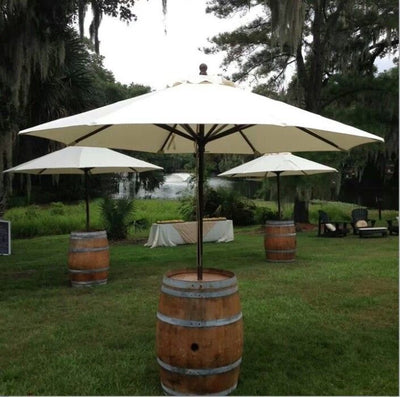 Accessory [Umbrella & Wine Barrel]