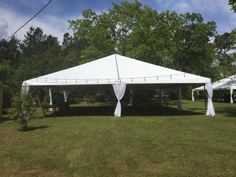 Tent Fabric Side Curtains