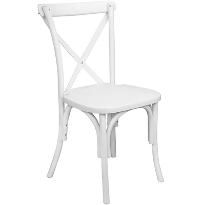 Chair [X-back white]