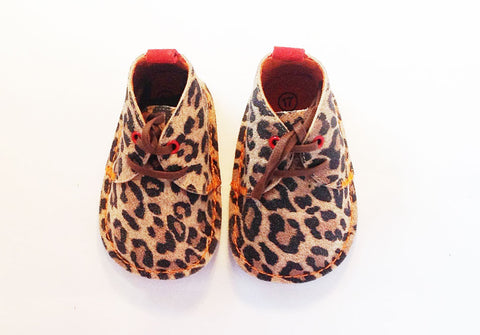 Harry Leopard suede