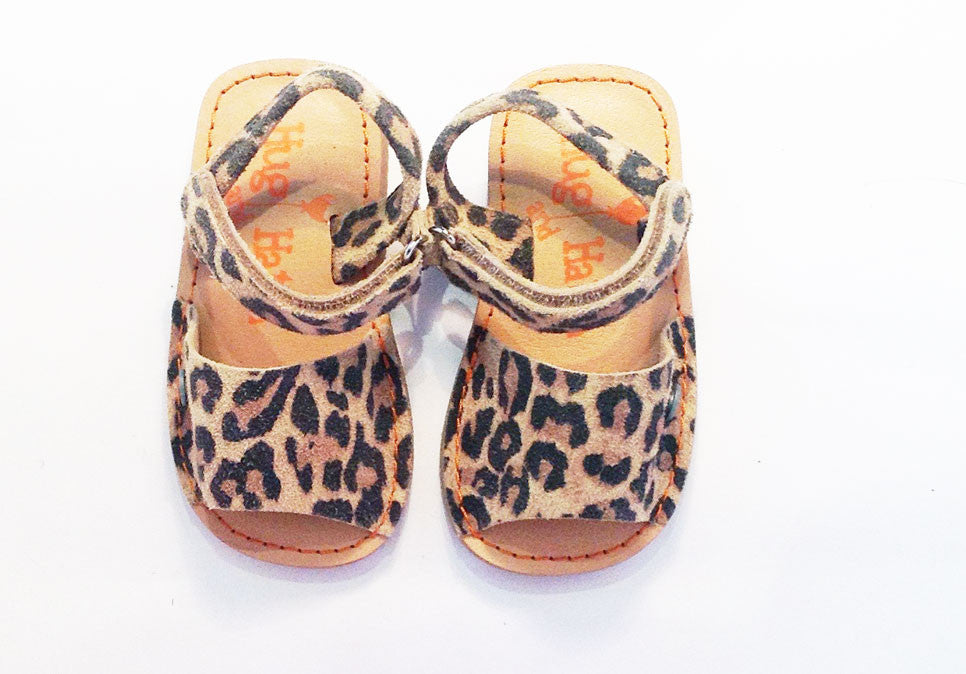 Hatch Sandal leopard junior