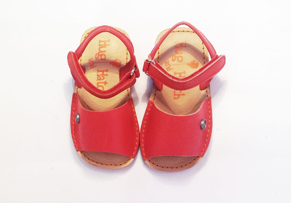Hatch Sandal Red junior