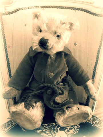 1930s Chiltern Hugmee Bear Early Antique Teddy Fabulous Face