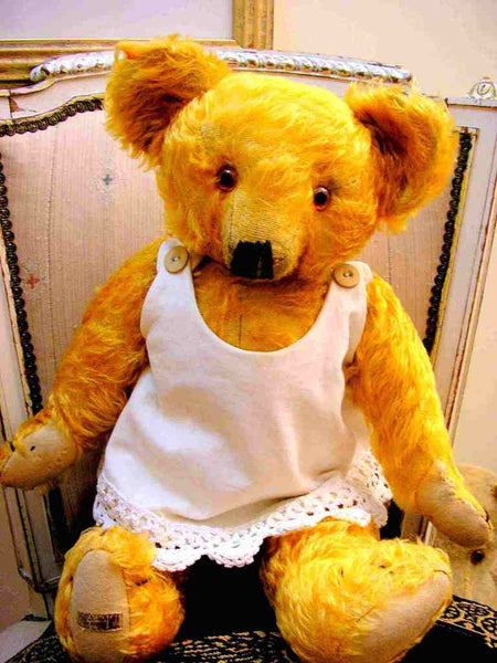 "Antique Merrythought Bear 1940s Teddy 20"" inches"