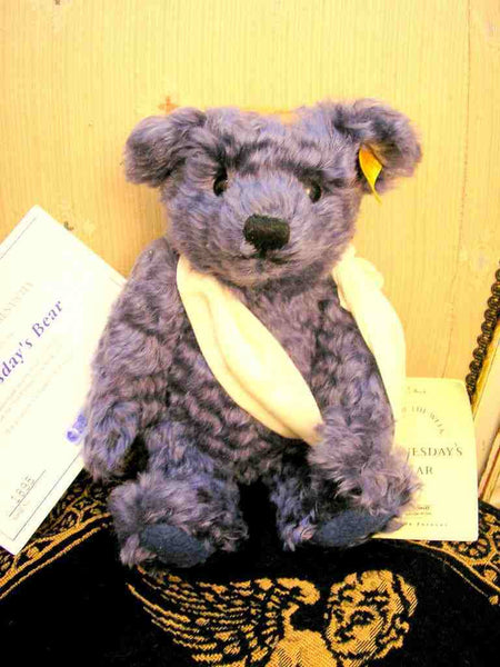 Steiff Teddy bear Wednesdays Child Blue