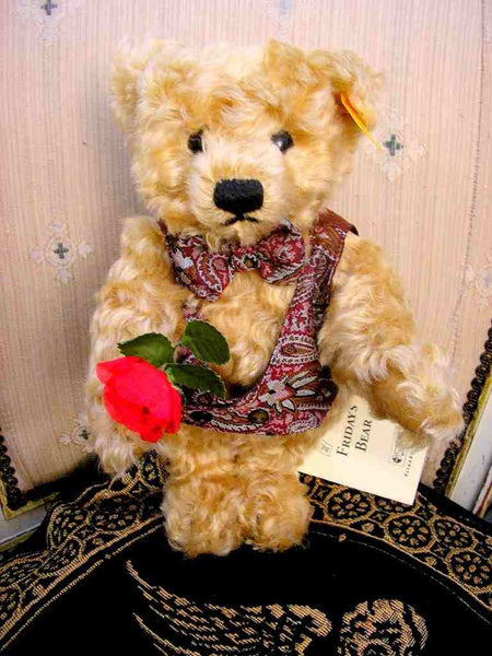 Vintage Steiff Teddy Bear Fridays Child