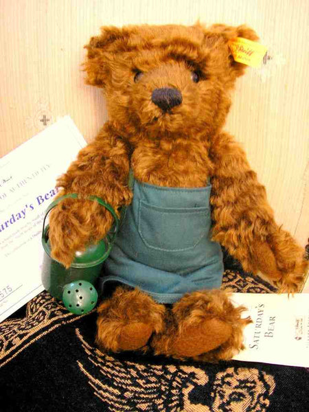 Vintage Steiff Teddy Bear Saturdays Child