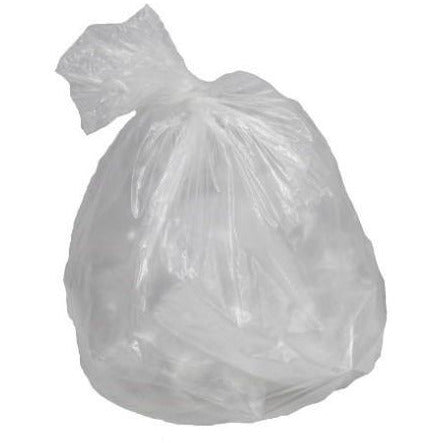 Clear Garbage Bags 30x38 X-Strong