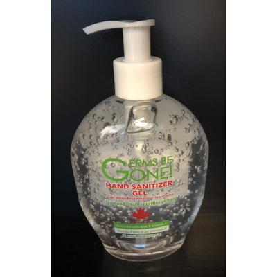 Germs Be Gone Hand Sanitizer with Aloe and Vitamin E