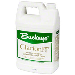 Clarion 25 Self-Sanitizing Floor Finish With Microban 1gal  4/Case