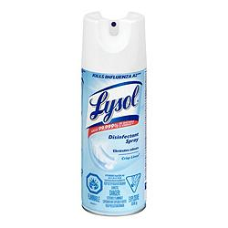 Lysol 99.9% Disinfectant Spray Crisp Linen 350g