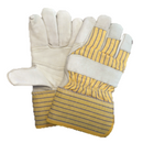 Leather Winter Glove Yellow