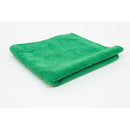 Jansan Microfiber Cleaning Cloths Green 10/PKG