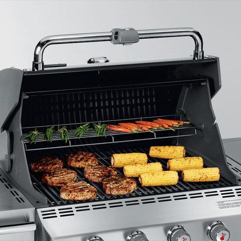 weber summit s420 stainless steel lp gas grill