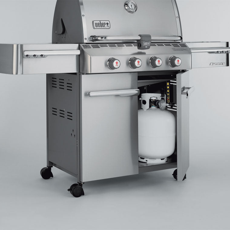 Weber Summit S 420 Stainless Steel Lp Gas Grill