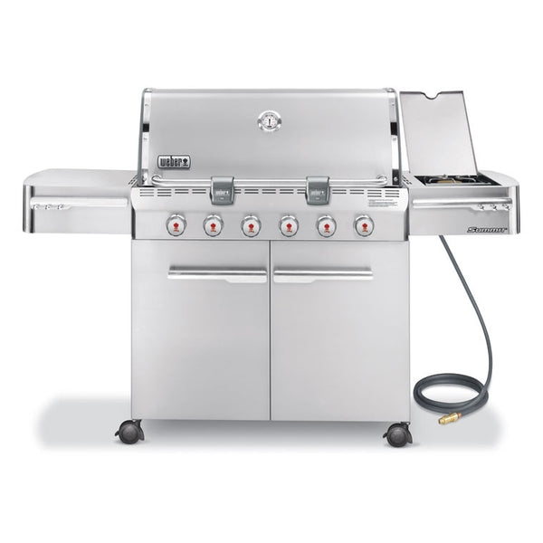 Weber Summit S-620 Stainless Steel Natural Gas Grill - 7420001