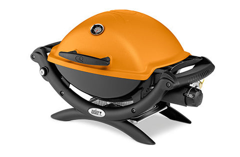 Weber Q 1200 Liquid Propane Gas Grill Orange 51190001
