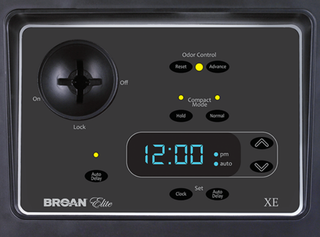 Broan 15 Quot Programmable Flat Stainless Steel Compactor