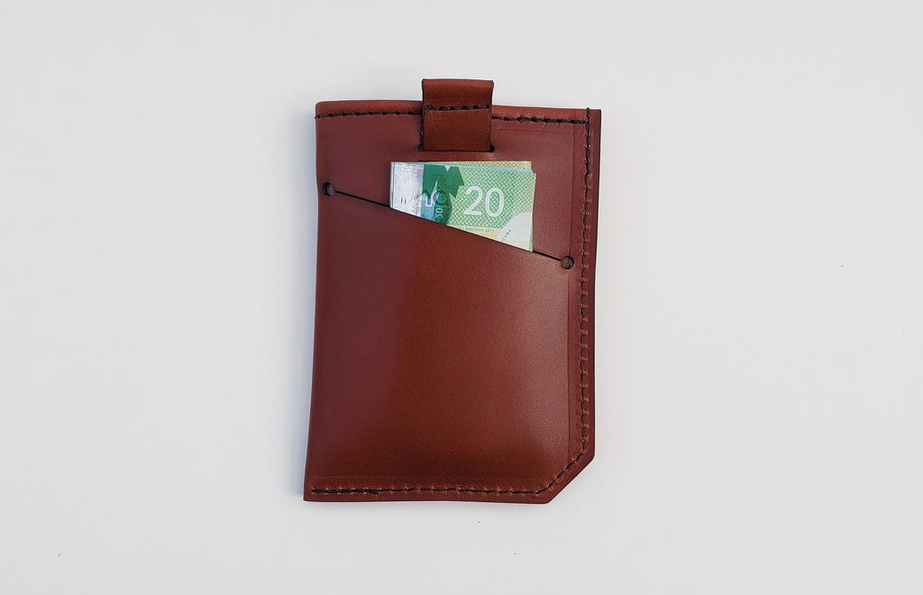 Three Pocket Tab Wallet