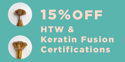 15% off HTW & Keratin Fusion Live Certification