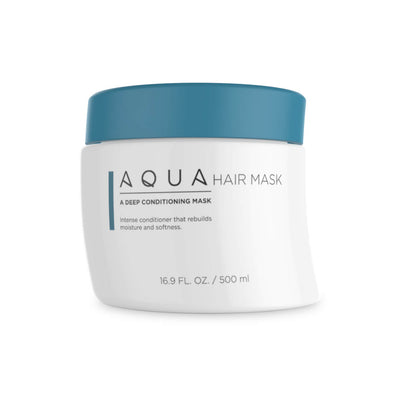 Aqua Hair Extensions Mask
