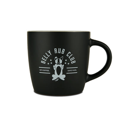Belly Rub Club Café Mug