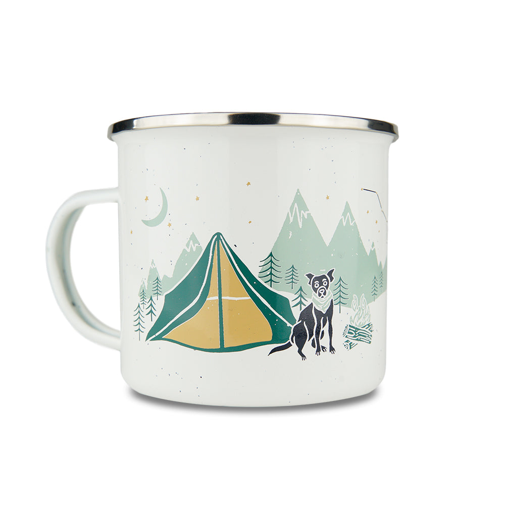 Camp Out Camping Tin