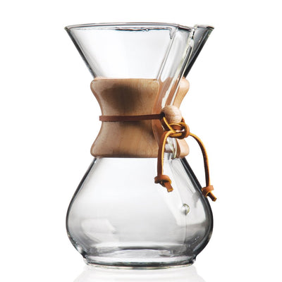 CHEMEX® Eight Cup Pour Over with Filters