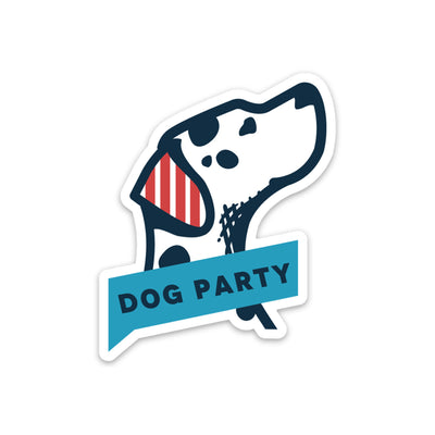D.O.G Party Individual Stickers