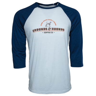 Men's 3/4 Sleeve Logo Shirt