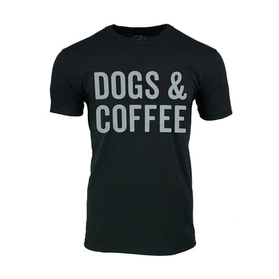 Unisex Dogs & Coffee T-shirt