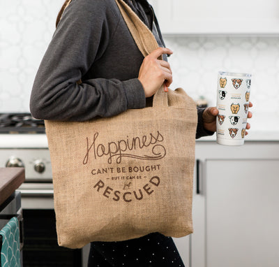 Key to Happiness Market Tote Bag