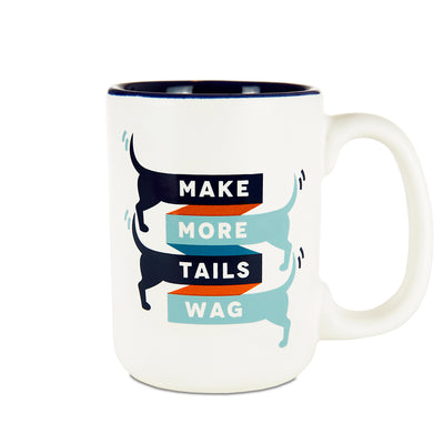 Make More Tails Wag Mug
