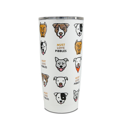 Celebrate Pibbles Stainless Steel Tumbler