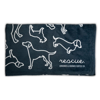 Rescue Silhouette Throw (Pup Sized)