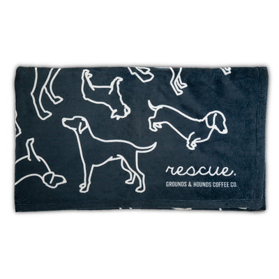 Rescue Silhouette Throw (Human Sized)