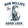 Lucky Bellies Sticker