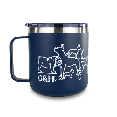 Dog Parade Travel Mug