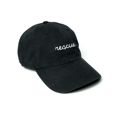 Rescue. Cap Matte Black