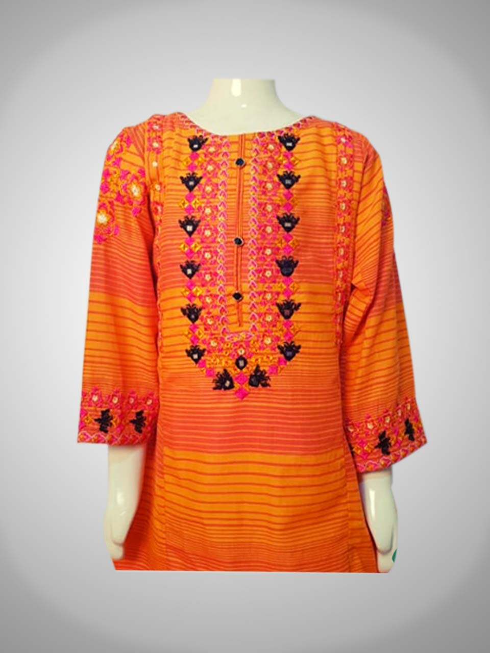 Glass Work Kurti