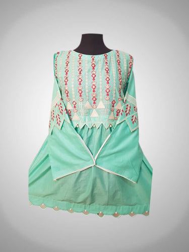 Tiffany Blue Embroidery shirt