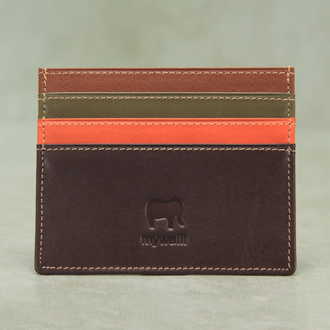 Mywalit Italian leather credit card holder